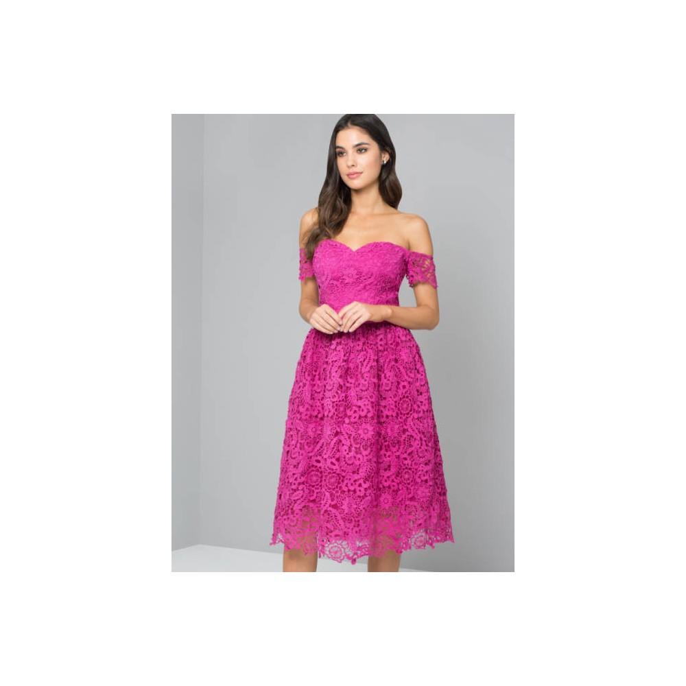 6dace15f5a Fuksjowa sukienka koktajlowa Luksemburg