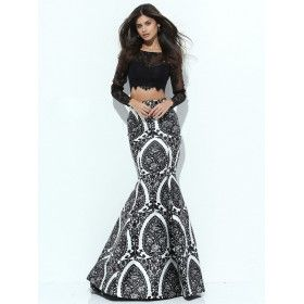 EVENING GOWN...
